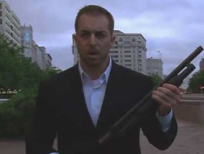 9) Gun Too Far -- Activist Adam Kokesh was arrested and convicted on weapons charges after he posted a video of himself pumping a shotgun near the White House on Independence Day. The stunt came after he canceled an armed march into D.C. to protest the city's strict gun laws.