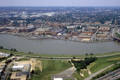 Washington Navy Yard aeril