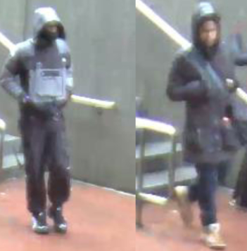 Metro Transit Police have say these two individuals fled the scene of a stabbing at the Twinbrook Metrorail station.