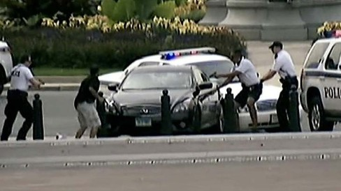 5) Deadly Capitol Car Chase -- A young mother led police on a car chase from the White House to the U.S. Capitol before she was gunned down. Miriam Carey, a 34-year-old dental hygienist, believed she was being controlled by President Obama.