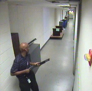 No. 1) Navy Yard Shooting -- On September 16, Aaron Alexis fatally shot twelve people and injured three others in a mass shooting at the headquarters of the Naval Sea Systems Command in Southeast Washington. It was the deadliest mass shooting in the District of Columbia. (Photo FBI)