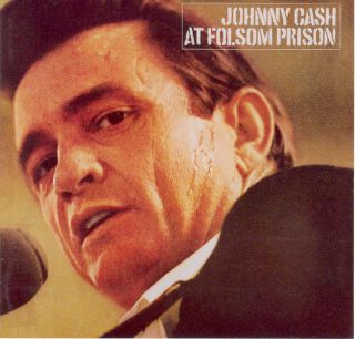 Johnny Cash's performance at Folsom Prison in California helped revive his career.
