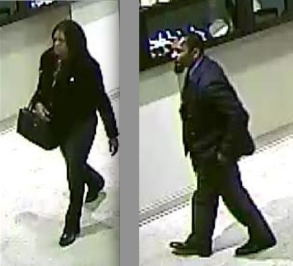 Two suspects entered the Masica Diamonds store located at 11763 Rockville Pike and walked away with $20,000 in diamond rings, police said.