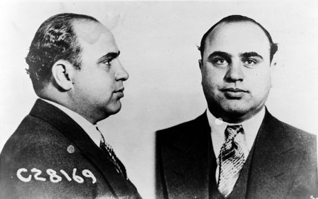 Al Capone took out members of his rivals on this day 1929.