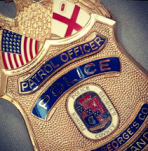 Prince Georg'es Police badge